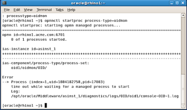 Troubleshooting errors starting #OID #11g #Oracle #Identity